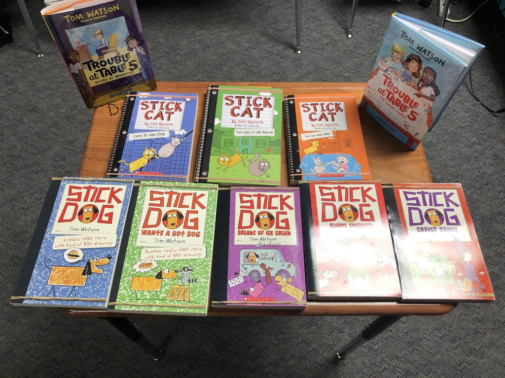 Stick Dog books