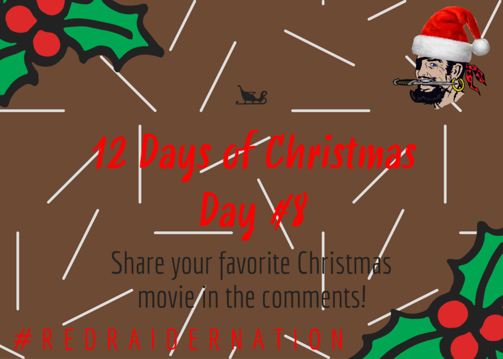Day 8 of 12 days of Christmas