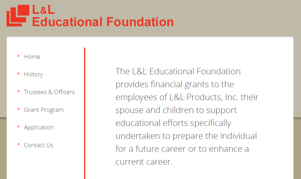 L & L Educational Foundation