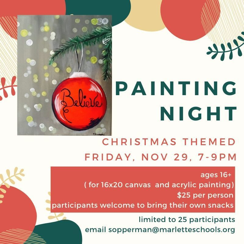 Painting Night Flier