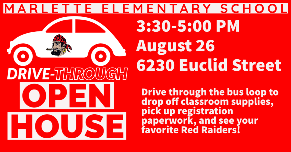 drive through open house