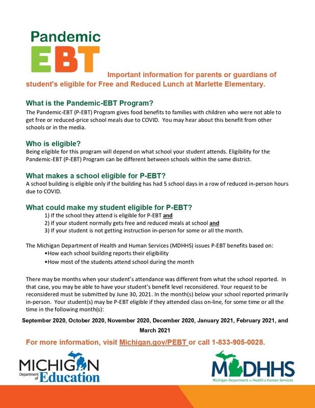 Pandemic EBT Program Information